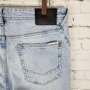 DML JEANS   skinny light stone wash jeans
